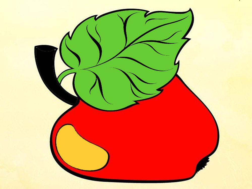 Раскраски-Овощи, фрукты, ягоды-Яблоко